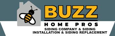 Buzz siding company & siding installation & siding replacement in Highland Park logo