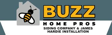 Buzz siding company & James Hardie Installation in Volo logo