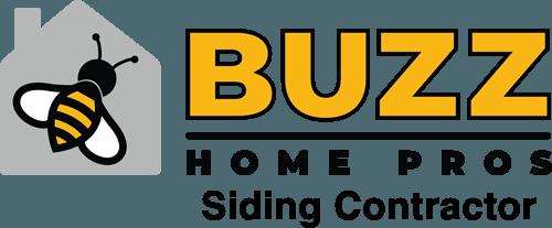 Buzz siding contractors mount prospect logo